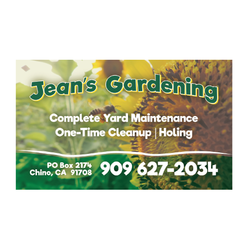 Jeans gardening business card graphic details inc jeans gardening business card colourmoves